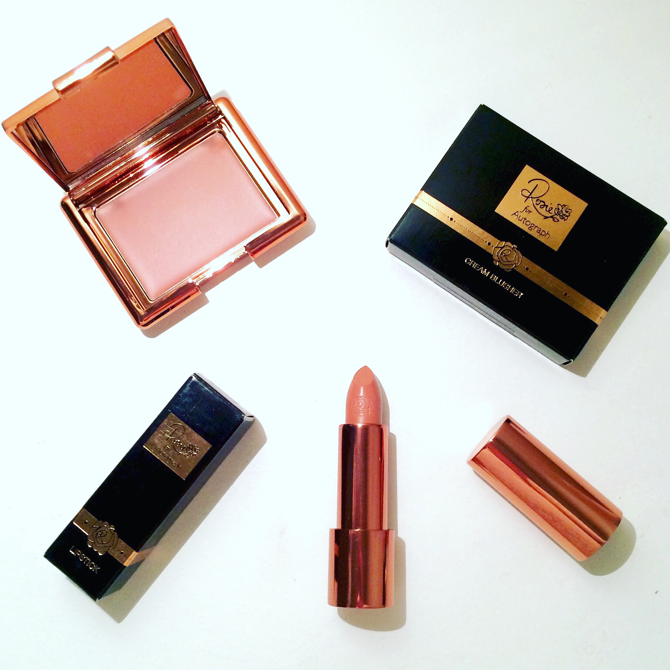 REVIEW & SWATCHES: 'Rosie for Autograph' Makeup Collection